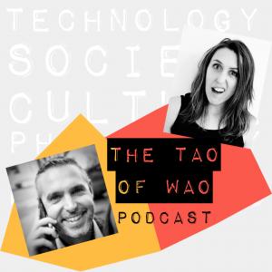 The Tao of Wao podcast logo